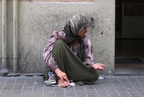 Esconder a los pobres