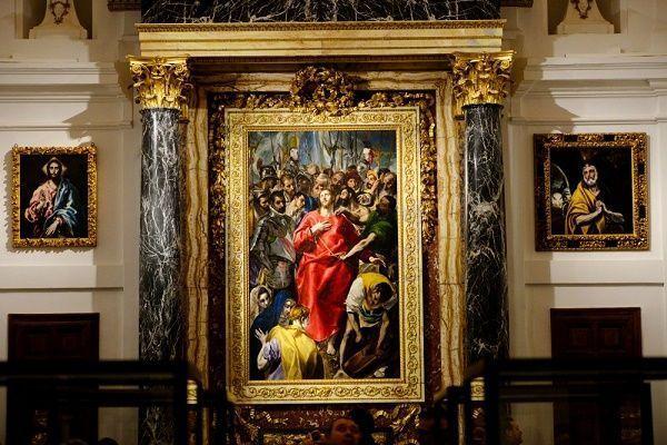 El expolio en la Sacristía de la catedral de Toledo 1