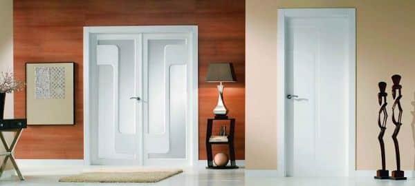 Jambas para puertas marcos para puerta marco de madera for Puerta que abre para los dos lados