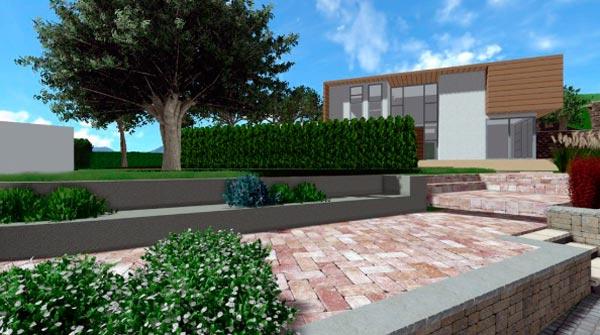 diseñar un jardín funcional